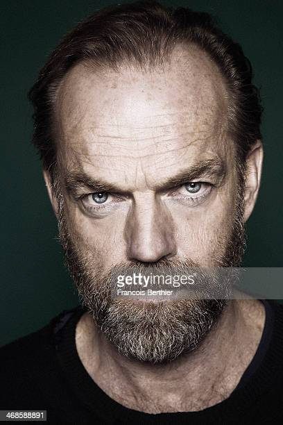 Actor Hugo Weaving is photographed for Self Assignment on February 10 2014 in Berlin Germany