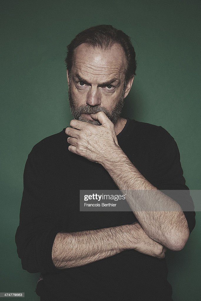 Actor Hugo Weaving is photographed for Self Assignment on February 10, 2014 in Berlin, Germany.