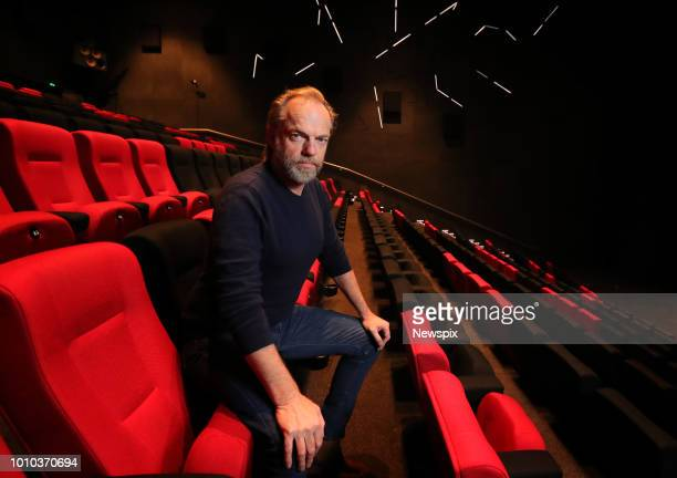 MELBOURNE VIC Actor Hugo Weaving poses during a photo shoot in Melbourne Victoria