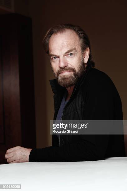 Actor Hugo Weaving poses for a portrait during the 68th Berlin International Film Festival on February 2018 in Berlin Germany