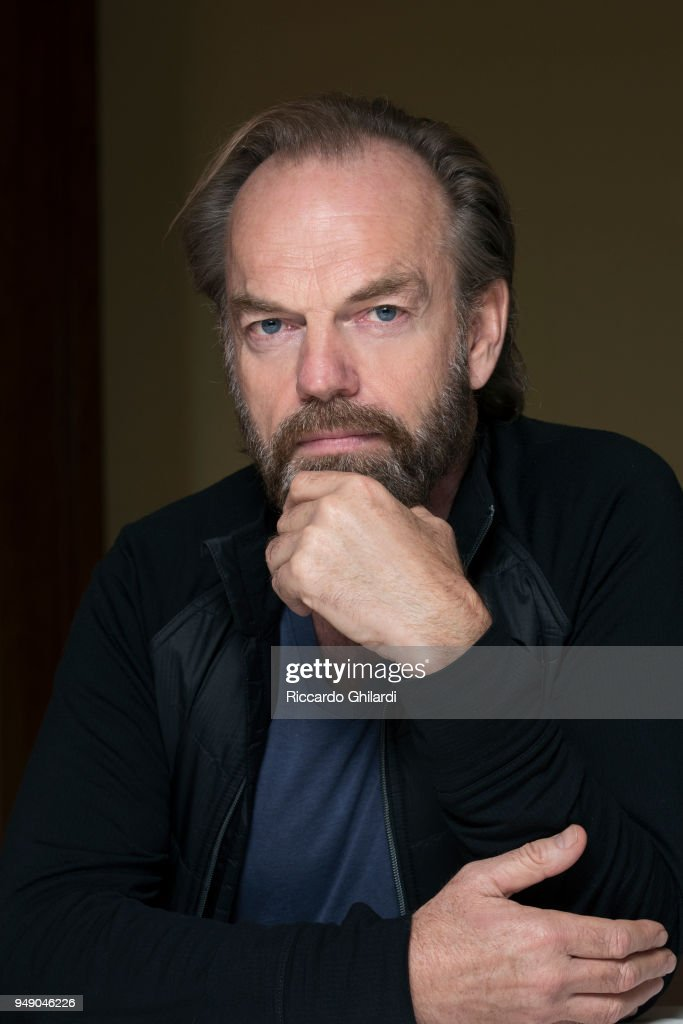 Actor Hugo Weaving poses for a portrait during the 68th Berlin International Film Festival on February, 2018 in Berlin, Germany. (Photo by Riccardo Ghilardi/Contour by Getty Images).