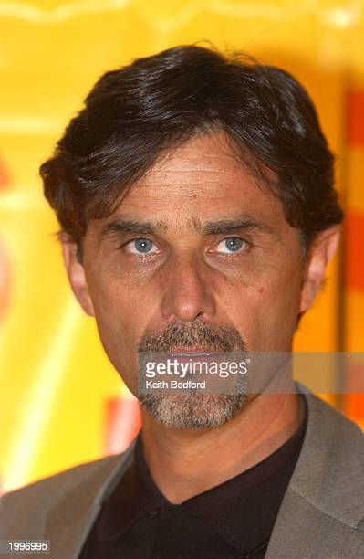 Actor Humberto Zurita of the show Ladron de Corazones poses at the Telemundo Network's upfront preview party to introduce the stars of the Spanish...