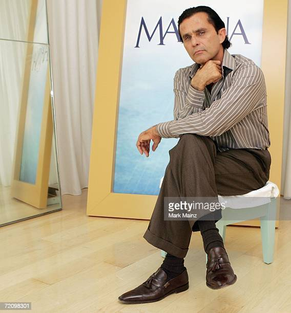 Actor Humberto Zurita poses for a portrait on October 5 2006 at the Mondrian Hotel in Hollywood California