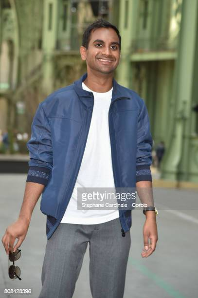 Actor Humorist Aziz Ansari attends the Chanel Haute Couture Fall/Winter 20172018 show as part of Haute Couture Paris Fashion Week on July 4 2017 in...