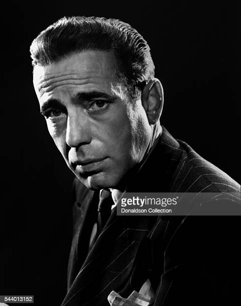 Actor Humphrey Bogart poses for a portrait circa 1950 in Los Angeles California