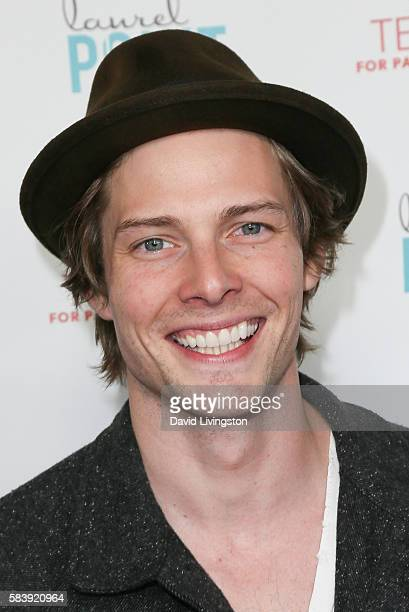 Actor Hunter Parrish arrives at Raising The Bar To End Parkinson's at Laurel Point on July 27 2016 in Studio City California