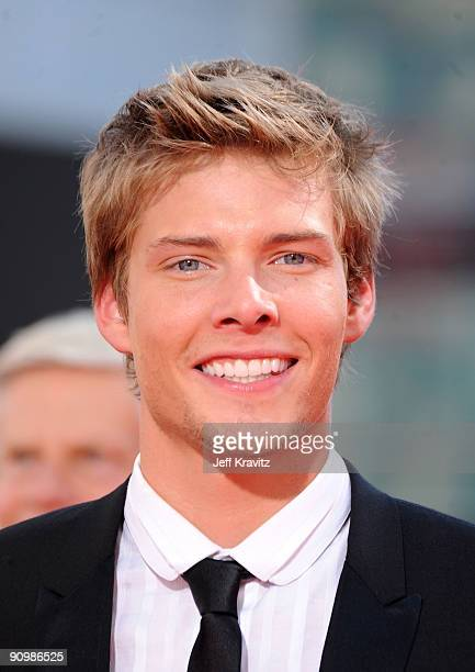 Actor Hunter Parrish arrives at the 61st Primetime Emmy Awards held at the Nokia Theatre on September 20 2009 in Los Angeles California