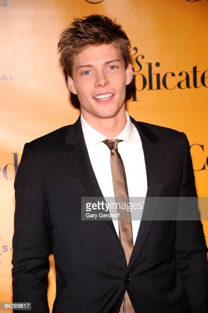 Actor Hunter Parrish attends the It's Complicated special screening at the Chelsea Clearview Cinema 9 on December 10 2009 in New York City