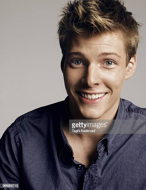 Actor Hunter Parrish is photographed for D Magazine
