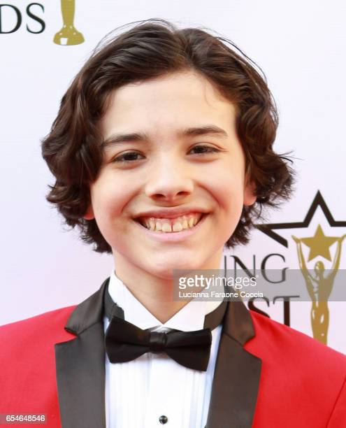 Actor Hunter Payton attends the 38th Annual Young Artists Awards at Alex Theatre on March 17 2017 in Glendale California