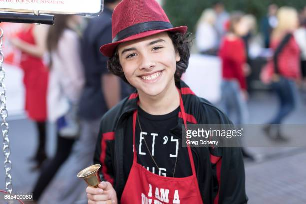 Actor Hunter Payton attends The Salvation Army Celebrity Kettle Kickoff Red Kettle Hollywood at the Original Farmers Market on November 30 2017 in...