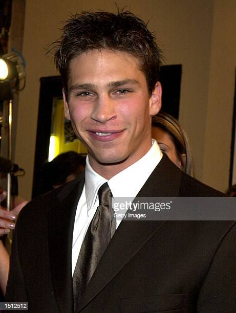 """Actor Huntley Ritter arrives at the premiere of the movie """"Bring It On"""" August 22, 2000 in Los Angeles, CA."""