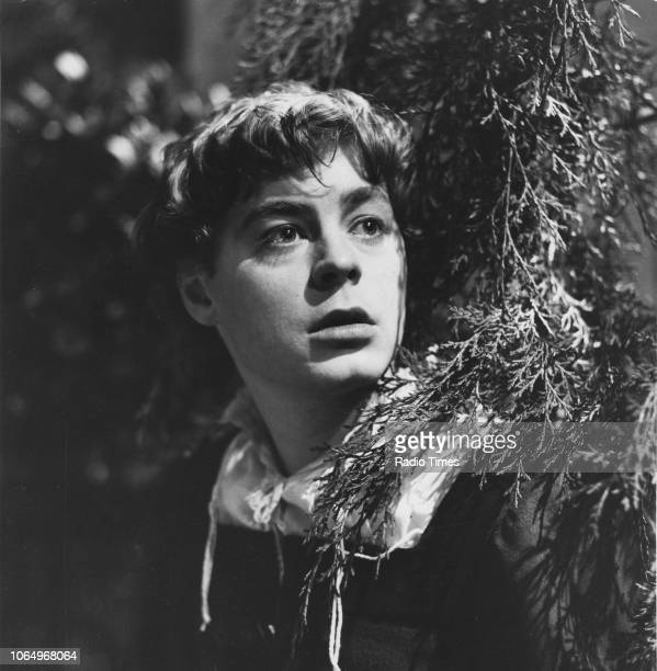 Actor Hywel Bennett in a scene from the BBC Play of the Month 'Romeo and Juliet', March 9th 1967.