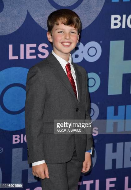 US actor Iain Armitage attends HBO's Big Little Lies Season 2 premiere at Jazz at Lincoln Center on May 29 2019 in New York City