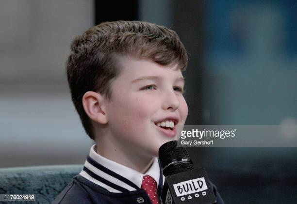 """Actor Iain Armitage visits the Build Series to discuss the shows """"Young Sheldon"""" and """"Big Little Lies"""" at Build Studio on September 20 2019 in New..."""