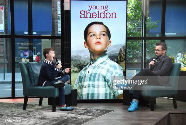 """Actor Iain Armitage visits the Build Series with host Matt Forte to discuss the shows """"Young Sheldon"""" and """"Big Little Lies"""" at Build Studio on..."""