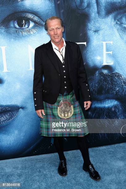 Actor Iain Glen attends the premiere of HBO's 'Game Of Thrones' season 7 at Walt Disney Concert Hall on July 12 2017 in Los Angeles California