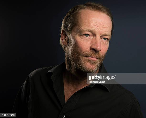 Actor Iain Glen is photographed for the Observer on November 27, 2013 in London, England.