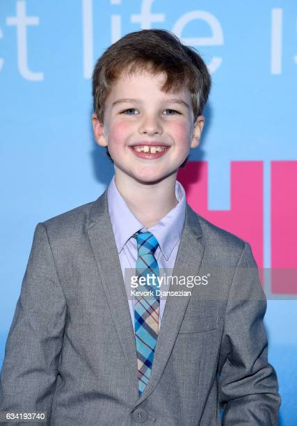 Actor Ian Armitage attends the premiere of HBO's Big Little Lies at TCL Chinese Theatre on February 7 2017 in Hollywood California