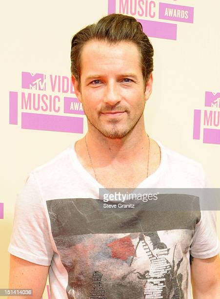 Actor Ian Bohen arrives at the 2012 MTV Video Music Awards at Staples Center on September 6 2012 in Los Angeles California