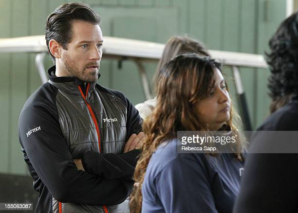 Actor Ian Bohen at Children Mending Hearts Kids' Breakfast at the Track Event at Santa Anita Park on October 31 2012 in Arcadia California