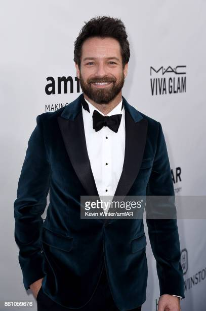 Actor Ian Bohen attends the amfAR Gala Los Angeles 2017 at Ron Burkle's Green Acres Estate on October 13, 2017 in Beverly Hills, California.