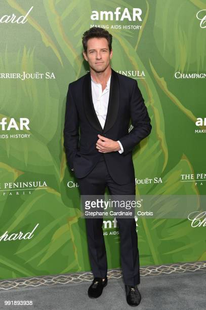 Actor Ian Bohen attends the amfAR Paris Dinner 2018 at The Peninsula Hotel on July 4 2018 in Paris France