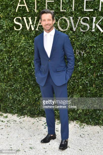 Actor Ian Bohen attends the Atelier Swarovski : Cocktail Of The New Penelope Cruz Fine Jewelry Collection as part of Paris Fashion Week on July 2,...
