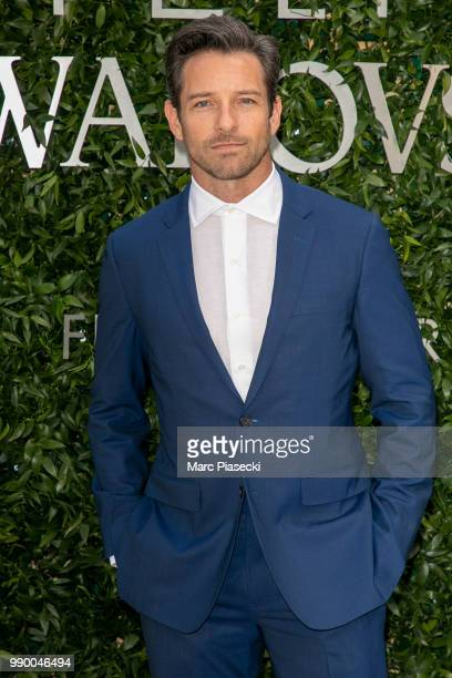 Actor Ian Bohen attends the Atelier Swarovski Cocktail Of The New Penelope Cruz Fine Jewelry Collection as part of Paris Fashion Week on July 2 2018...