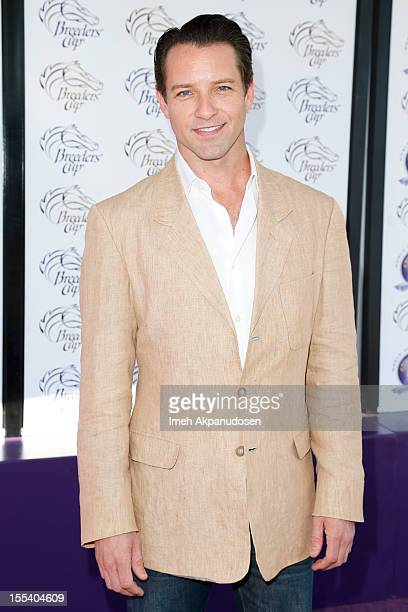 Actor Ian Bohen attends The Breeders' Cup World Championships on November 3 2012 in Arcadia California