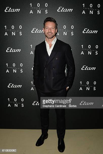 Actor Ian Bohen attends the Etam show as part of the Paris Fashion Week Womenswear Spring/Summer 2017 on September 27 2016 in Paris France