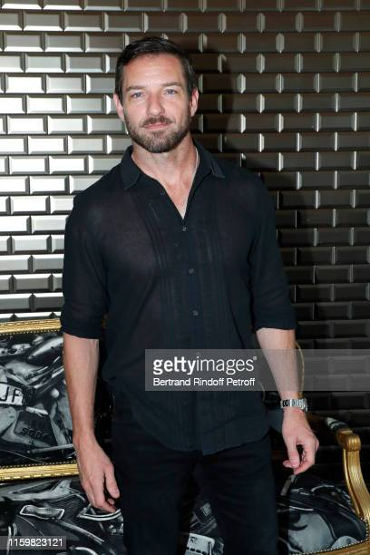 Actor Ian Bohen attends the Jean Paul Gaultier Haute Couture Fall/Winter 2019 2020 show as part of Paris Fashion Week on July 03, 2019 in Paris,...