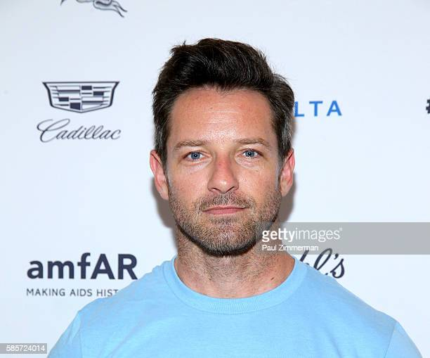 Actor Ian Bohen attends the Kiehl's 7th Annual LifeRide For amfAR at the Kiehl's NYC flagship store on August 3 2016 in New York City