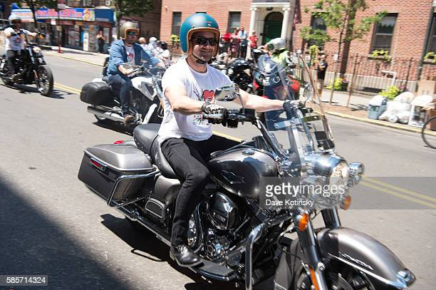 Actor Ian Bohen attends the Launch of Kiehl's 7th Annual Liferide for amfAR with partner RxArt at the Incarnation Childrens Center on August 3 2016...