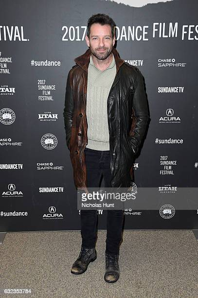 Actor Ian Bohen attends the 'Wind River' premiere on day 3 of the 2017 Sundance Film Festival at Eccles Center Theatre on January 21 2017 in Park...