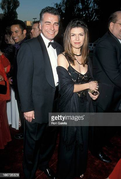 Actor Ian Buchanan and actress Finola Hughes attend the 15th Annual Soap Opera Digest Awards on February 26 1999 at the Universal Amphitheatre in...