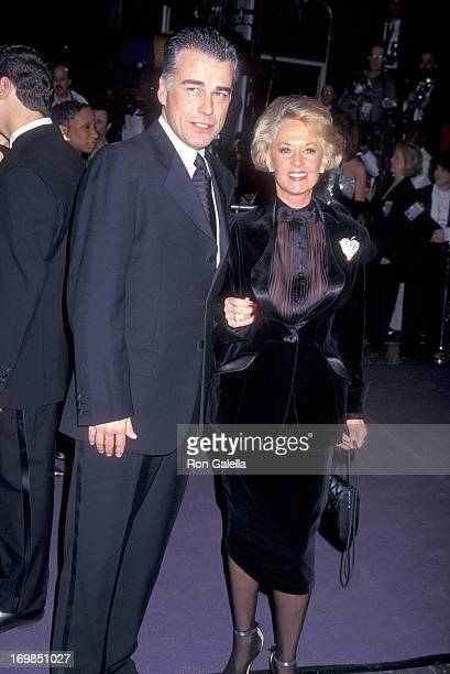 Actor Ian Buchanan and actress Tippi Hedren attend ABC's Television Special 'Happy Birthday Elizabeth A Celebration of Life' to Celebrate Elizabeth...