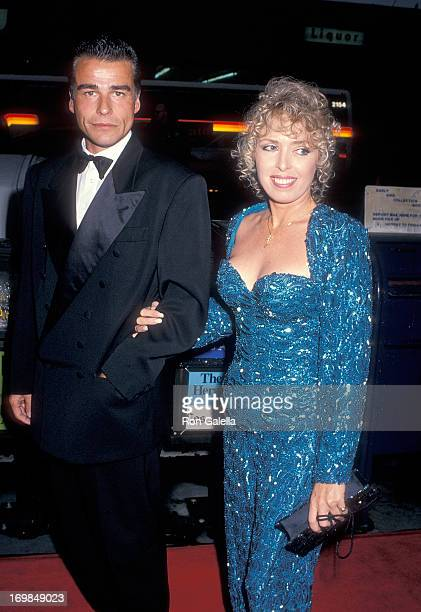 Actor Ian Buchanan and date attend the 11th Annual CableACE Awards on January 14 1990 at the Wiltern Theatre in Los Angeles California