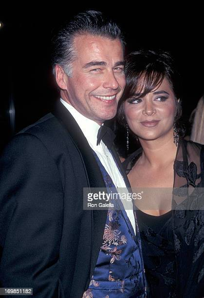 Actor Ian Buchanan and date attend the 25th Annual Daytime Emmy Awards on May 15 1998 at Radio City Music Hall in New York City