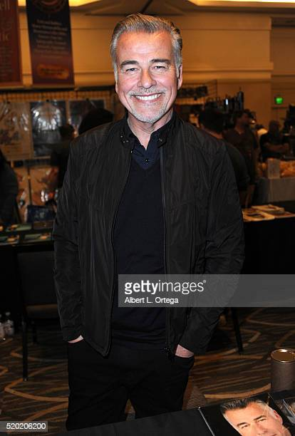 Actor Ian Buchanan at the The Hollywood Show held at Westin LAX Hotel on April 9 2016 in Los Angeles California