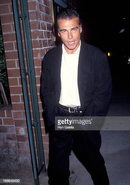 Actor Ian Buchanan attend the Center Theatre Group/Ahmanson Theatre's Opening Night Play Production of 'Jake's Women' After Party on April 15 1993 at...