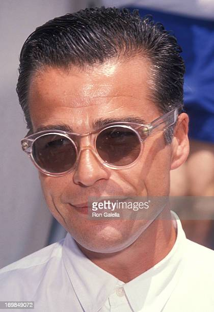 Actor Ian Buchanan attends the Sxith Annual Celebrity Tennis Classic to Benefit the MakeAWish Foundation on August 11 1990 at the Beverly Hills...