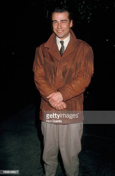 Actor Ian Buchanan on January 22 1987 dines at Spago in West Hollywood California