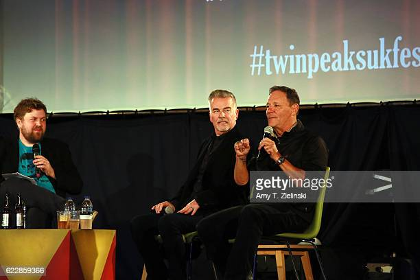 Actor Ian Buchanan who portrayed Dick Tremayne and actor Chris Mulkey who portrayed Hank Jennings on 'Twin Peaks' attend a QA with a Timeout reporter...