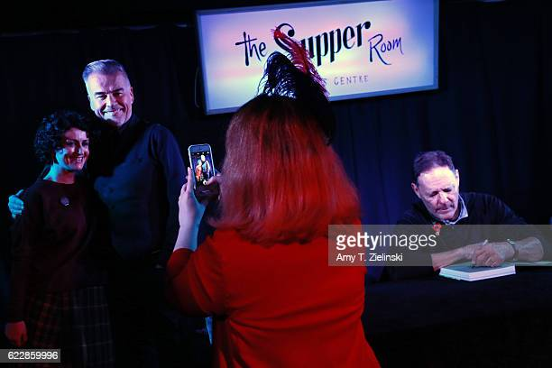 Actor Ian Buchanan who portrayed Dick Tremayne and actor Chris Mulkey who portrayed Hank Jennings on 'Twin Peaks' signs autographs during the Twin...