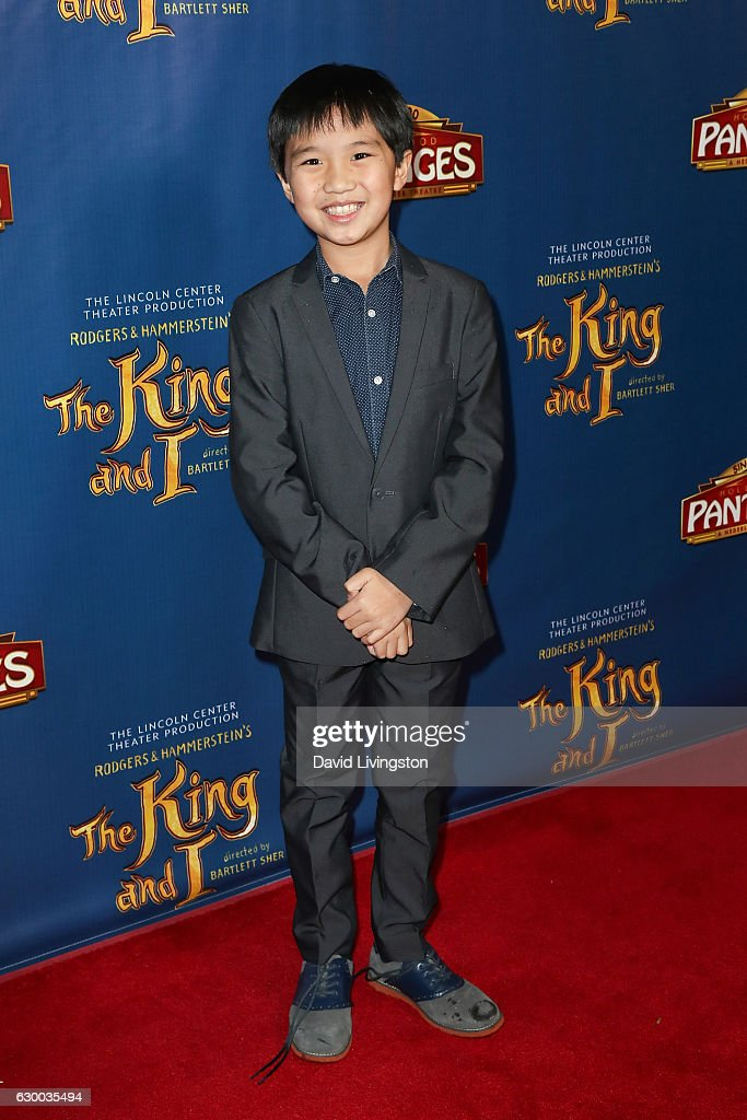 Actor Ian Chen arrives at the Opening Night of The Lincoln Center Theater's Production Of Rodgers and Hammerstein's 'The King and I' at the Pantages Theatre on December 15, 2016 in Hollywood, California.