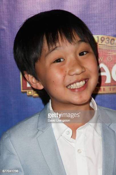 Actor Ian Chen arrives at the premiere of 'The Bodyguard' at the Pantages Theatre on May 2 2017 in Hollywood California