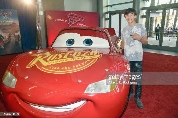 "Actor Ian Chen at the World Premiere of Disney/Pixar's ""Cars 3' at the Anaheim Convention Center on June 10 2017 in Anaheim California"