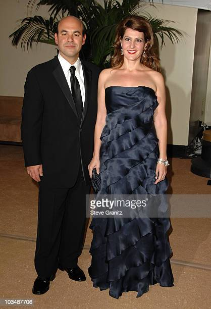Actor Ian Gomez and Actress Nia Vardalos arrive at the Academy Of Motion Pictures And Sciences' 2009 Governors Awards Gala held at the Grand Ballroom...
