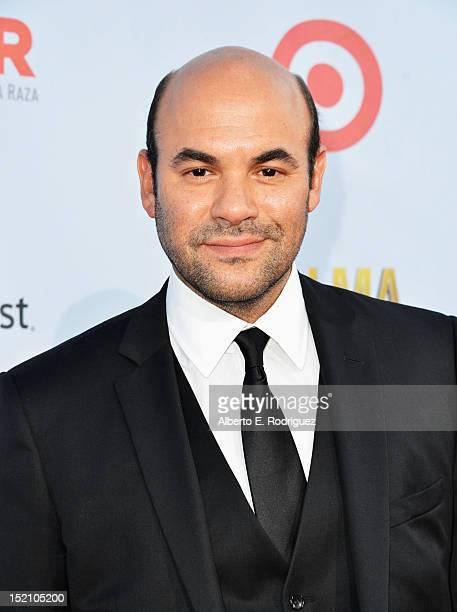 Actor Ian Gomez arrives at the 2012 NCLR ALMA Awards at Pasadena Civic Auditorium on September 16 2012 in Pasadena California